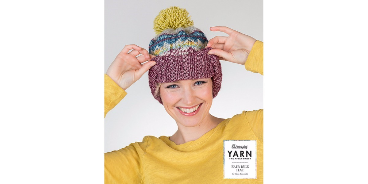 YARN The After Party no. 07 - Fair Isle Hat