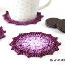 Ombre coasters