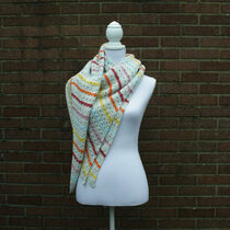 2016-07-04 Cable Stitch Shawl