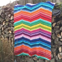 2015-11-19 Bargello Blanket