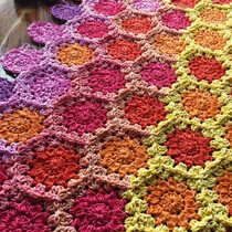 2017-11-18 Cozy Flowers Blanket 2