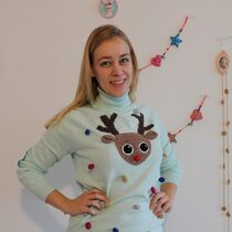 2015-12-06 Ugly Christmas sweater