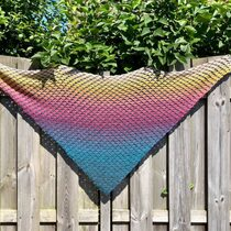 2018-07-30 Olivia Triangle Shawl 1