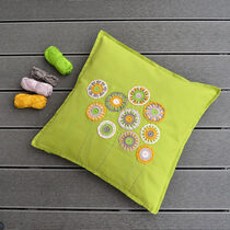 2017-04-14 Dandelion Garden Pillow 1