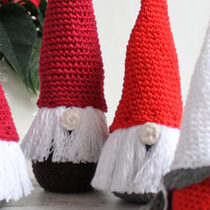 2017-11-02 Crochet Christmas Gnome1