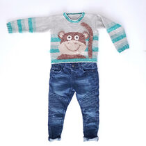 2020-03-14 Little Monkey Sweater 2