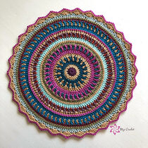 2020-10-12 All Colours Mandala 1