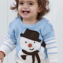 2020-10-19 Little Snowman Sweater