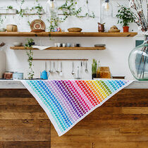 2020-04-30 Chevron Rainbow Blanket 1