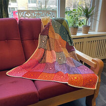 2021-02-14 Colorful Coral Mosaic Blanket 1