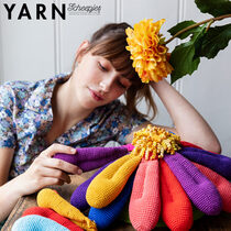 Loves Me Loves Me Not Flower Nienke Jongstra Scheepjes Bookazine YARN 11 Macro Botanica