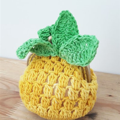 2016-06-13 Pineapple Coin Purse 1
