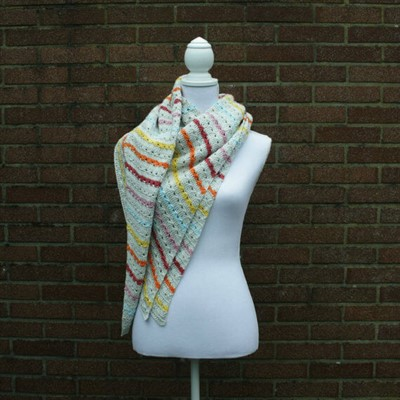 2016-07-04 Cable Stitch Shawl 1