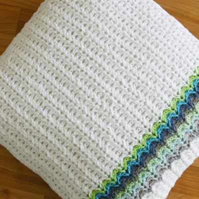2016-06-08 Herringbone Crochet Pillow Stitch