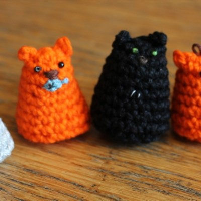 2012-12-17 Crochet Kitty Cat 1