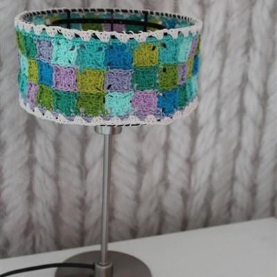 2015-07-11 Granny Collage Lampshade