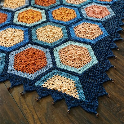 2017-09-12 Autumn Blues Blanket