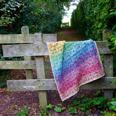 2017-07-06 Rainbow Spirit Blanket 1