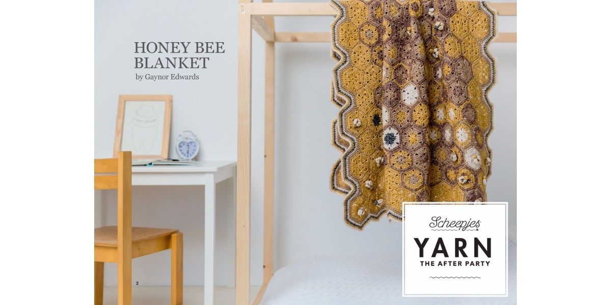 YARN The After Party 08 - Honey Bee Blanket