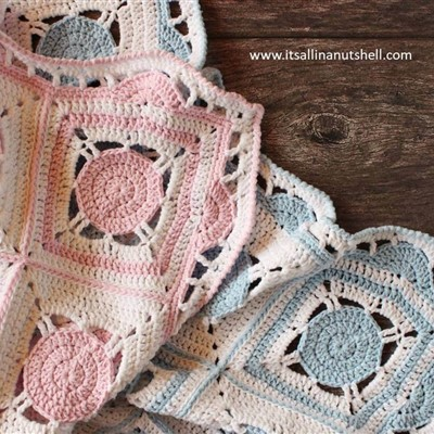 2017-12-04 Sweet dreams Baby Blanket 1
