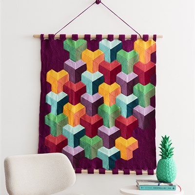 YARN by Scheepjes - Wall Hanging Fruit RW