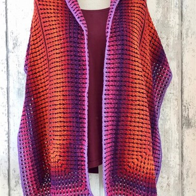 2018-02-02 Sunrise Shawl 1