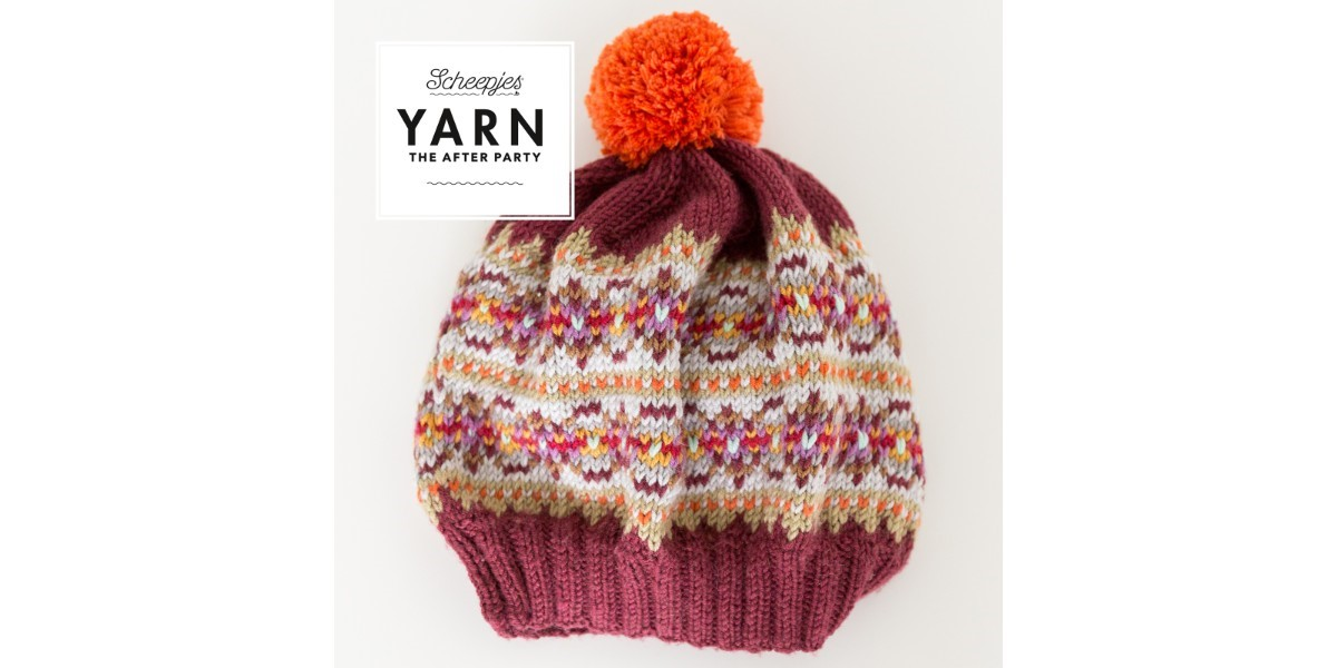 YARN The After Party 36 - Autumn Colours Bobble Hat