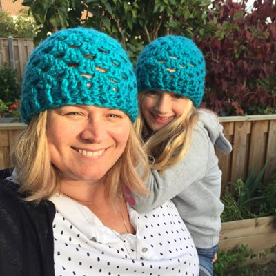2018-12-15 Matchy Matchy Crochet Hat 1