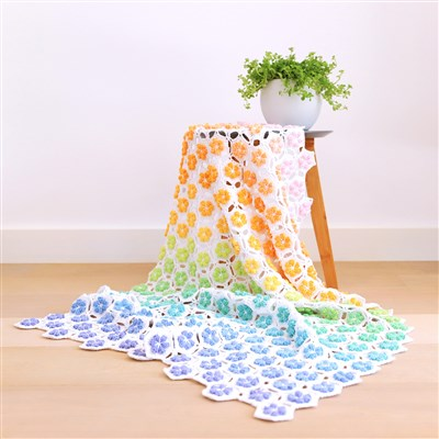 2018-08-15 Flower Shower Blanket 1