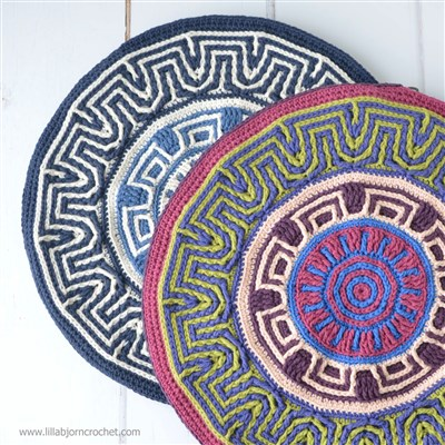 2017-01-27 Labyrinth Mandala Pillow 1
