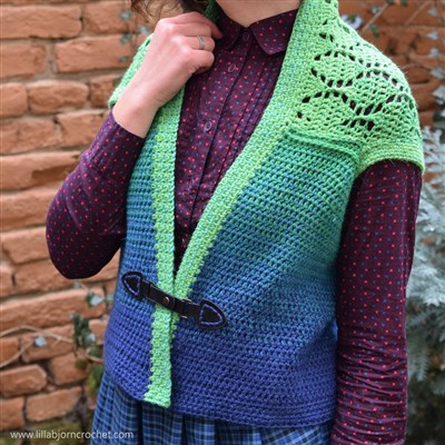 Spring Leaves Shrug_free crochet pattern_12_small