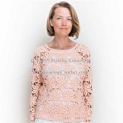 2019-08-02 Coral Sweater 1