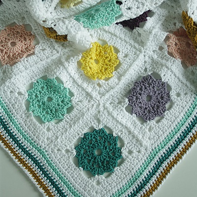 2019-11-09 Field of Daisies Blanket 1