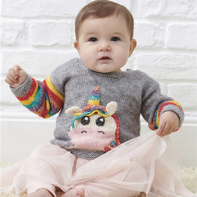 2020-01-17 Little Unicorn Sweater 2